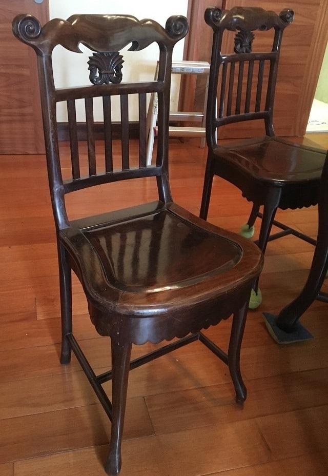 Bộ bàn ăn gỗ trắc 6 ghế bàn mặt đá rộng 90cm-1