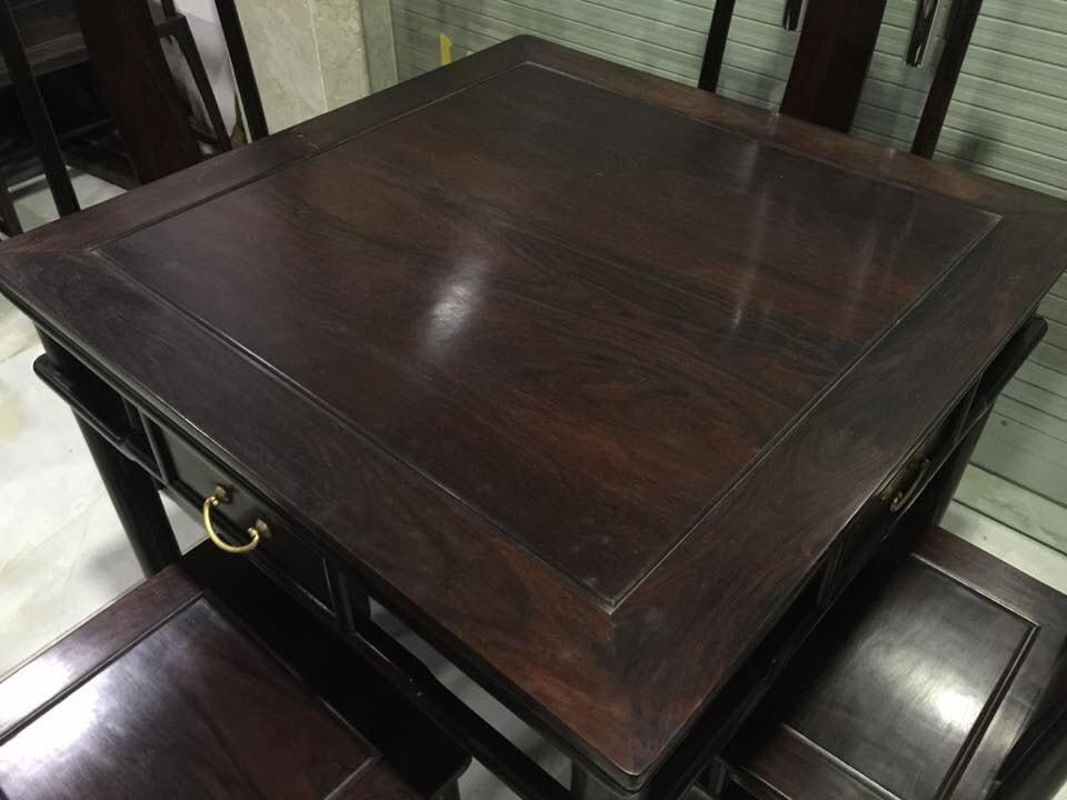 bộ bàn ghế ăn 4 ghế-3
