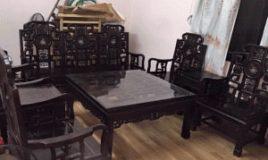 Bộ bàn ghế như ý 8 món gỗ trắc