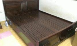 Giường ngủ gỗ gụ ta