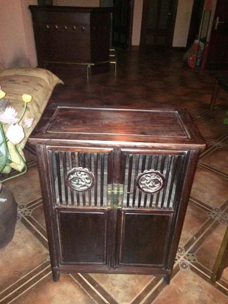 Tủ đũa gỗ trắc-1